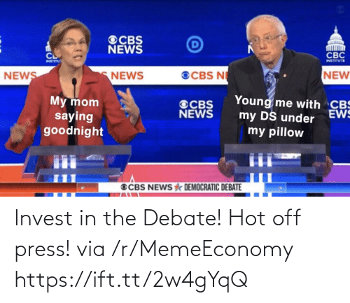 debate: Invest in the Debate! Hot off press! via /r/MemeEconomy https://ift.tt/2w4gYqQ