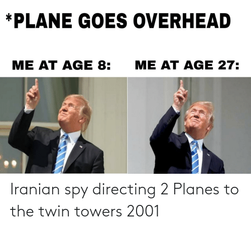 2: Iranian spy directing 2 Planes to the twin towers 2001