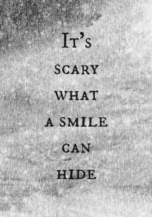irs: Ir's  SCARY  WHAT  A SMILE  CAN  HIDE