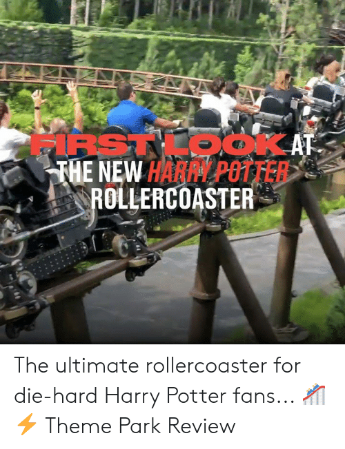 rollercoaster: IRSTKOOKAT  THE NEW HARPY POTTER  ROLLERCOASTER The ultimate rollercoaster for die-hard Harry Potter fans... 🎢⚡  Theme Park Review