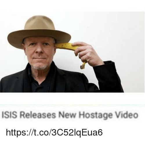 hostage: ISIS Releases New Hostage Video https://t.co/3C52lqEua6