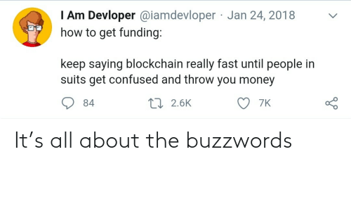 About The: It's all about the buzzwords