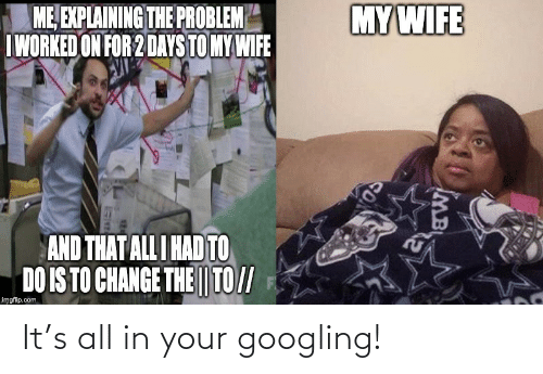 All In: It's all in your googling!