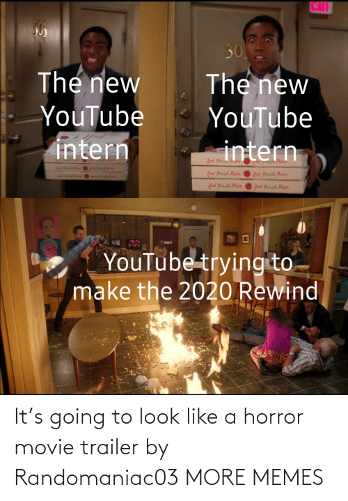 To Look: It's going to look like a horror movie trailer by Randomaniac03 MORE MEMES