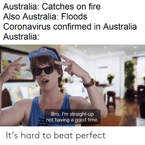perfect: It's hard to beat perfect