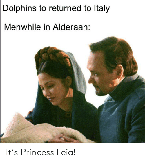Princess: It's Princess Leia!