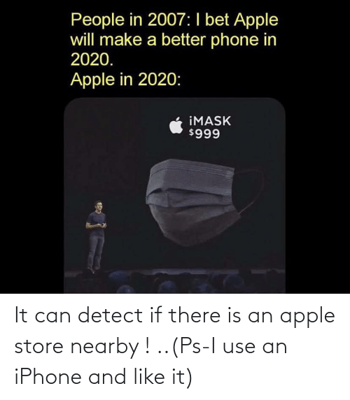 Apple Store: It can detect if there is an apple store nearby ! ..(Ps-I use an iPhone and like it)
