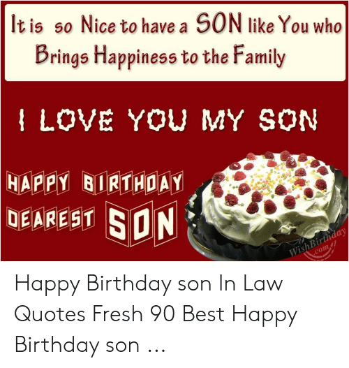 🐣 25 Best Memes About Happy Birthday Son in Law Meme