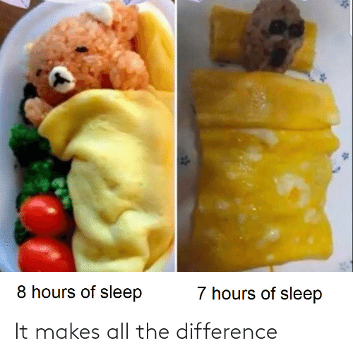 Difference: It makes all the difference