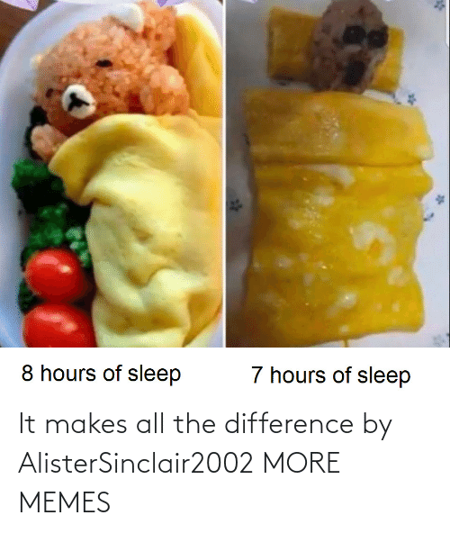 Difference: It makes all the difference by AlisterSinclair2002 MORE MEMES