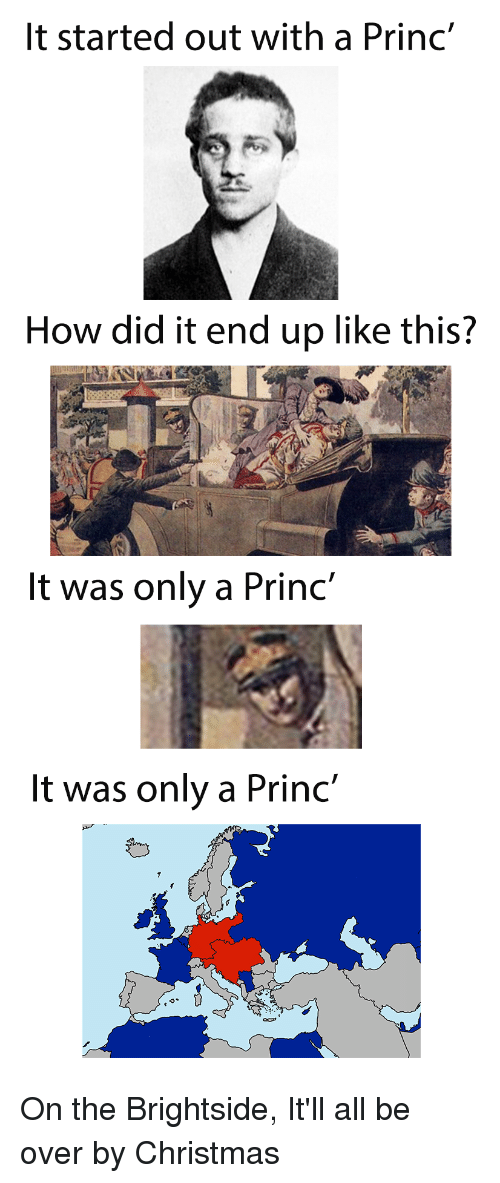 """Christmas, History, and How: It started out with a Princ'  How did it end up like this?  It was only a Princ""""  It was only a Princ'"""