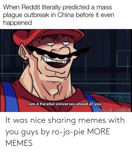 It Was: It was nice sharing memes with you guys by ro-jo-pie MORE MEMES