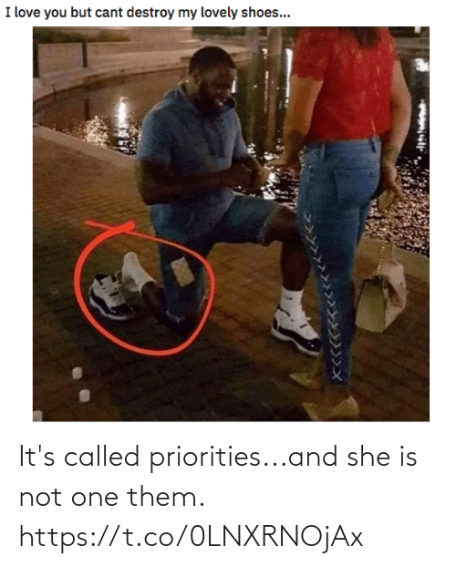 called: It's called priorities...and she is not one them. https://t.co/0LNXRNOjAx