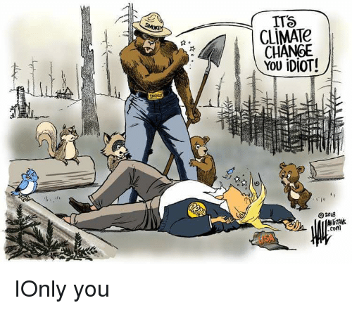 Lol, Change, and Climate Change: ITS  CLİMATe  CHANGE  O2018  conl IOnly you