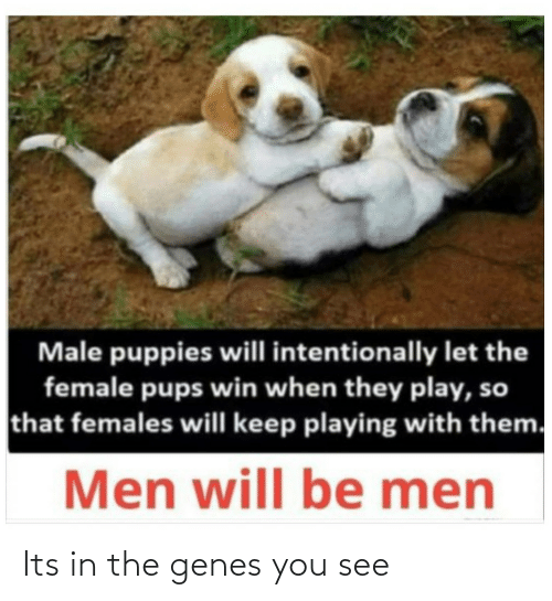 You See: Its in the genes you see