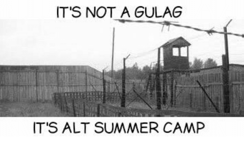 Dank, 🤖, and Camp: IT'S NOT A GULAG  IT'S ALT SUMMER CAMP