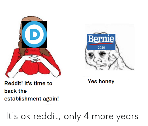 Its Ok: It's ok reddit, only 4 more years