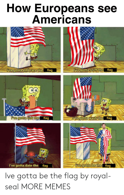 Seal: Ive gotta be the flag by royal-seal MORE MEMES