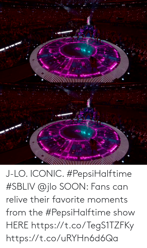 show: J-LO. ICONIC. #PepsiHalftime #SBLIV @jlo   SOON: Fans can relive their favorite moments from the #PepsiHalftime show HERE https://t.co/TegS1TZFKy https://t.co/uRYHn6d6Qa