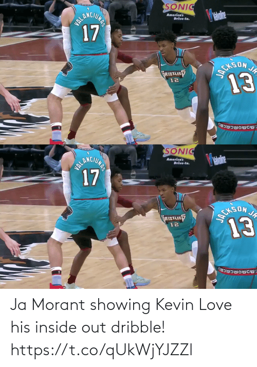 Showing: Ja Morant showing Kevin Love his inside out dribble!  https://t.co/qUkWjYJZZl