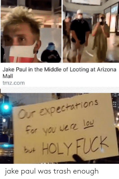 Trash: jake paul was trash enough