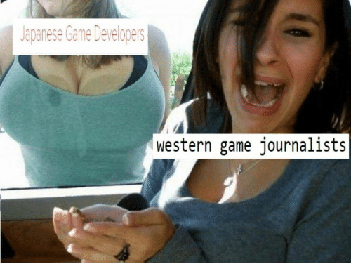 Game, Japanese, and Western: Japanese Game Developers  western game journalists
