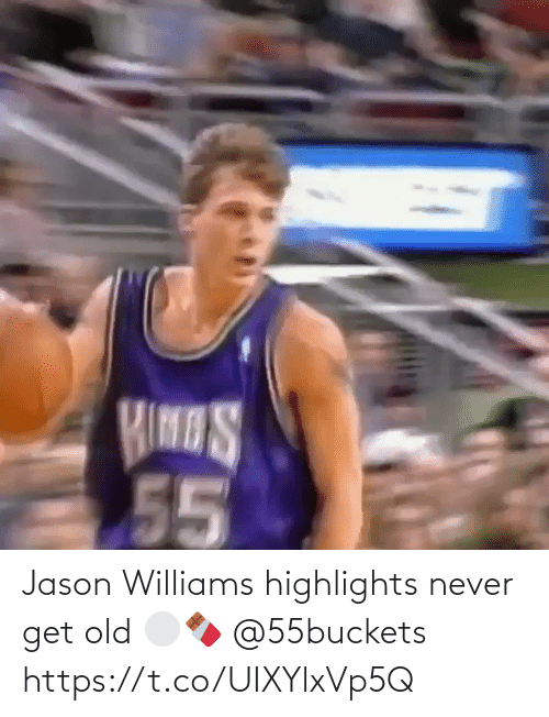 Old: Jason Williams highlights never get old ⚪️🍫 @55buckets https://t.co/UIXYlxVp5Q