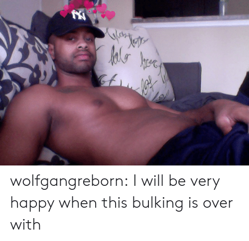 very happy: Jete  hrere wolfgangreborn: I will be very happy when this bulking is over with