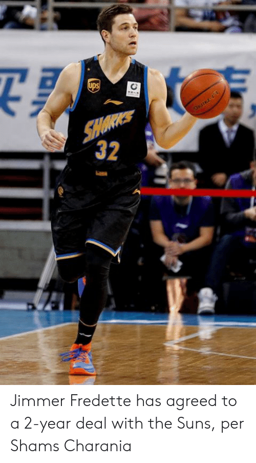 Jimmer Fredette, Deal, and Agreed: Jimmer Fredette has agreed to a 2-year deal with the Suns, per Shams Charania