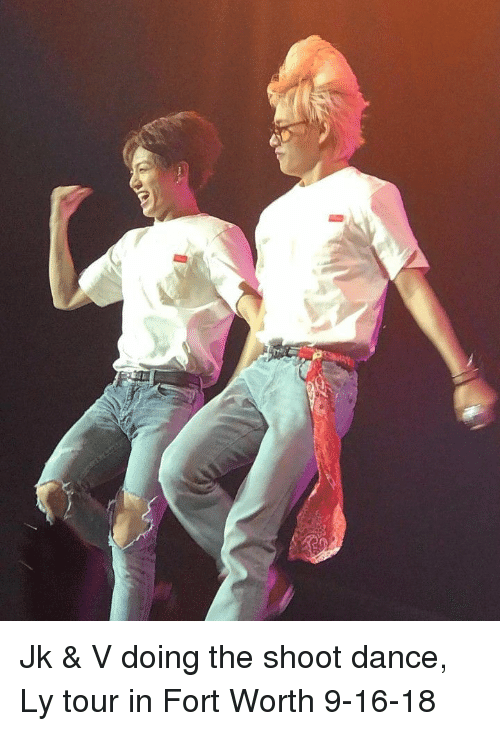 Dance, Tour, and  Fort Worth: Jk & V doing the shoot dance, Ly tour in Fort Worth 9-16-18