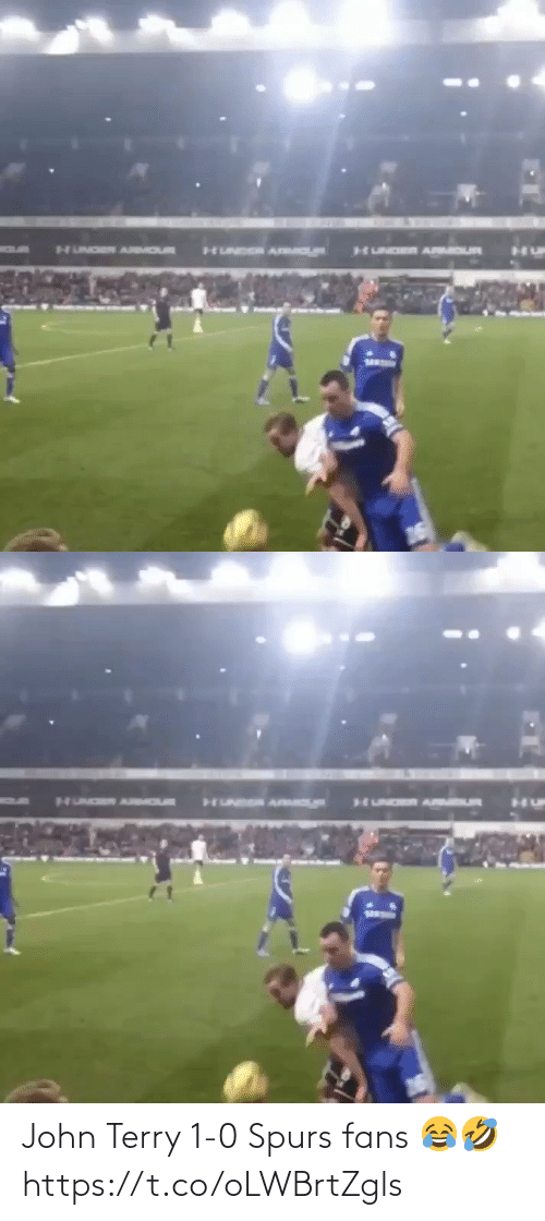Spurs: John Terry 1-0 Spurs fans 😂🤣 https://t.co/oLWBrtZgls