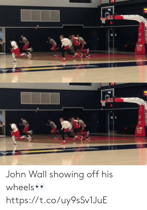 Showing: John Wall showing off his wheels👀 https://t.co/uy9sSv1JuE