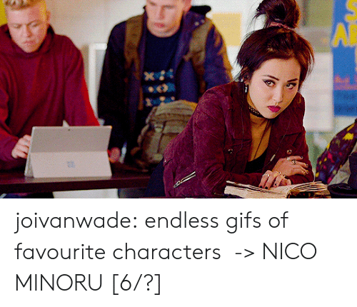 Target, Tumblr, and Blog: joivanwade:    endless gifs of favourite characters  -> NICO MINORU [6/?]