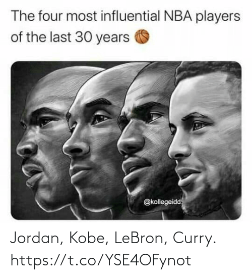curry: Jordan, Kobe, LeBron, Curry. https://t.co/YSE4OFynot
