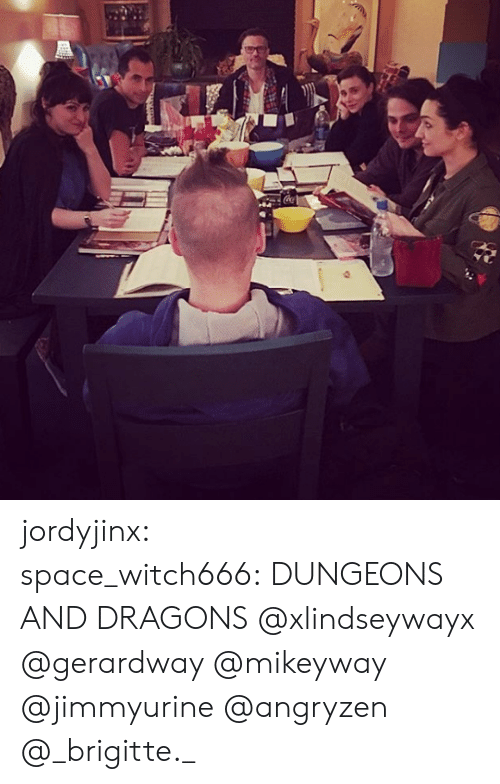 Dungeons and Dragons: jordyjinx:  space_witch666: DUNGEONS AND DRAGONS @xlindseywayx @gerardway @mikeyway @jimmyurine @angryzen @_brigitte._