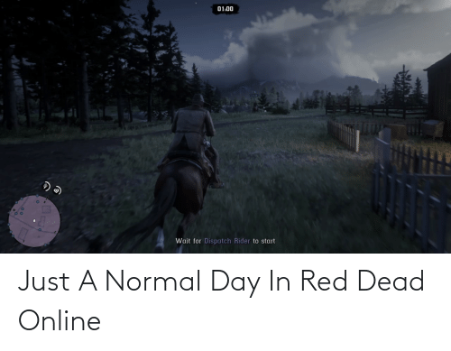 red dead: Just A Normal Day In Red Dead Online