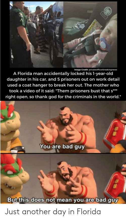 Florida: Just another day in Florida