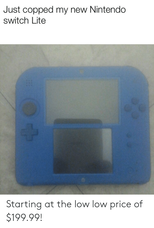 Just Copped My New Nintendo Switch Lite Starting at the Low