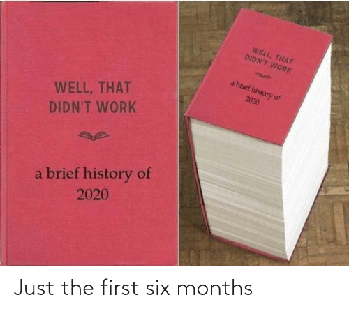 just: Just the first six months