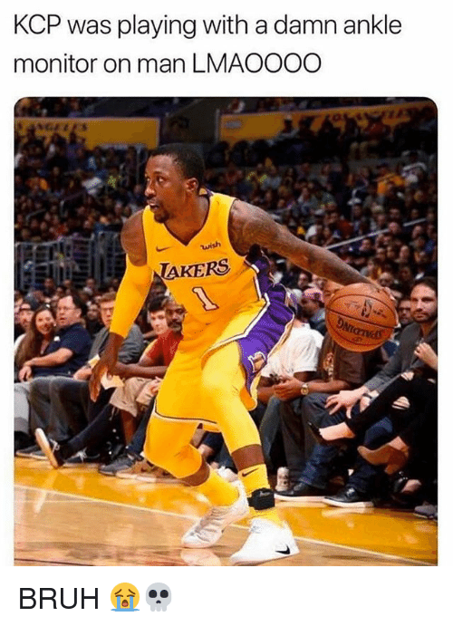 Bruh, Nba, and Man: KCP was playing with a damn ankle  monitor on man LMAOOOO  AKERS BRUH 😭💀