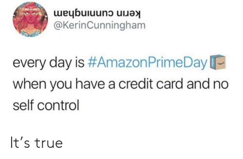 Kerin Cunningham Every Day Is #Amazon Prime Day When You Have a
