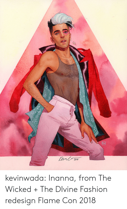 Fashion, Target, and Tumblr: kevinwada:  Inanna, from The Wicked + The DIvine Fashion redesign Flame Con 2018