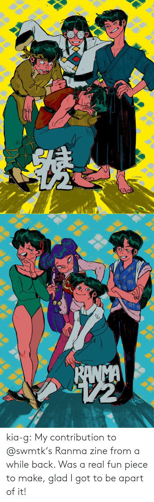 kia: kia-g:  My contribution to @swmtk's Ranma zine from a while back. Was a real fun piece to make, glad I got to be apart of it!