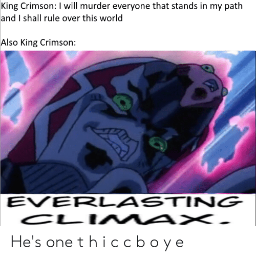 King Crimson I Will Murder Everyone That Stands in My Path