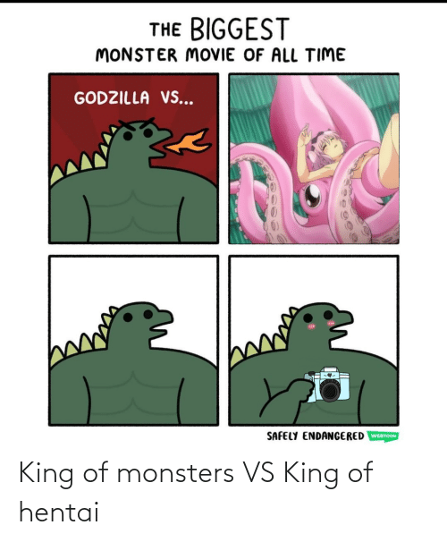 monsters: King of monsters VS King of hentai