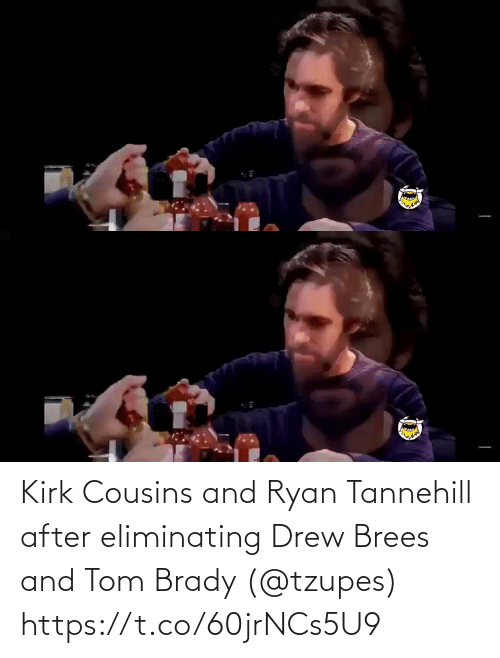 ryan: Kirk Cousins and Ryan Tannehill after eliminating Drew Brees and Tom Brady (@tzupes) https://t.co/60jrNCs5U9