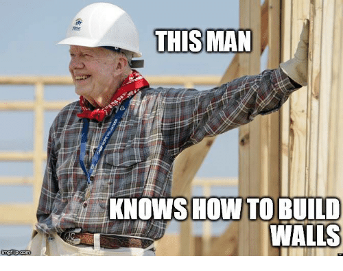 Memes, 🤖, and How: KNOWS HOW TOBUILD  WALLS  imgflip.com