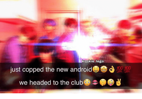 Android, Club, and Lego: kookie lego  700  just copped the new android  headed to the club