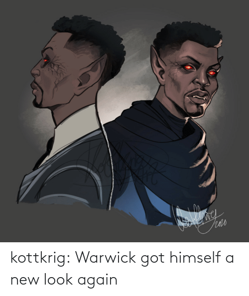 look: kottkrig:  Warwick got himself a new look again