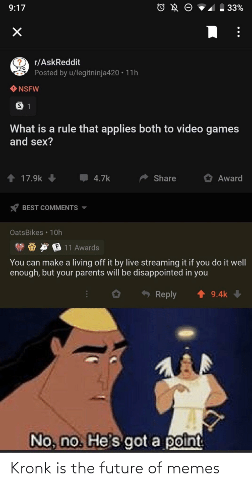 The Future: Kronk is the future of memes